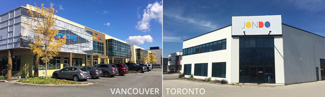 Vancouver Toronto Canada Facilities   JONDO